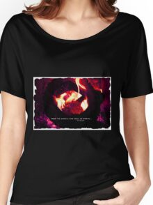 Tolkien art Lord of the Rings poem art by ANGIECLEMENTINE Women's Relaxed Fit T-Shirt
