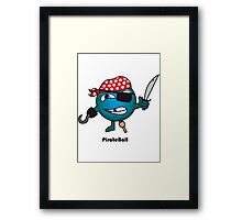 Pirate Ball Framed Print