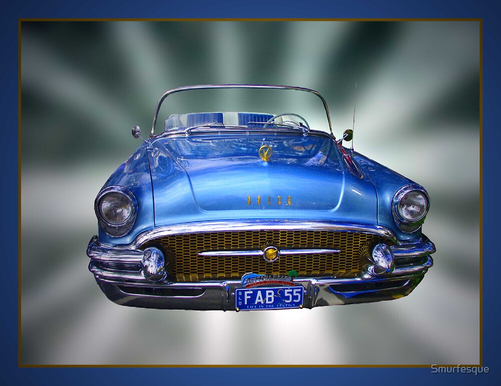 1955 Buick Roadster by Smurfesque