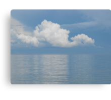 Clouds Over Georgian Bay Canvas Print