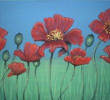 Poppy Field by Cherie Roe Dirksen