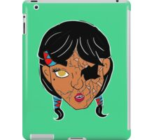 Doll: Kuwan (color) iPad Case/Skin