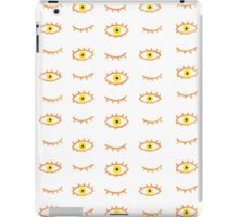 Evil Eye - Peach & Yellow iPad Case/Skin
