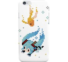 Hatsune Miku - Swimming with Fishes iPhone Case/Skin