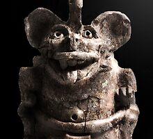 Zapotec Bat Figure by Thedragonofdoom