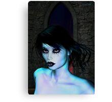 The glow of Vampire Canvas Print