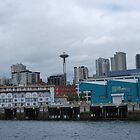 Seattle Skyline by Cathy Jones