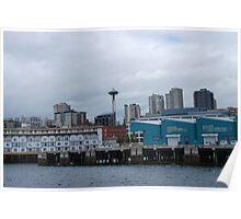Seattle Skyline Poster