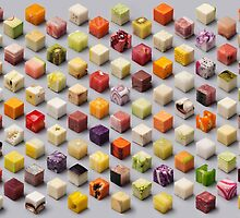 Cubed Foods by boxsmasher