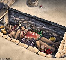 Zapotec Burial by Thedragonofdoom