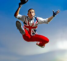 Just jump! by Vanessa Pike-Russell