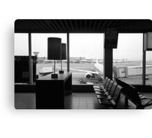 AMS - Amsterdam Airport Schiphol Canvas Print