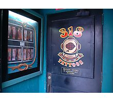 Tattoo shop Photographic Print