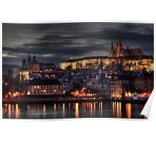 Prague Castle and Hradcany Poster