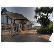 The Pilchard Inn - Burgh Island Poster