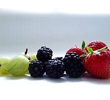 Berry Mix Photographic Print