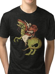 Raptored Tri-blend T-Shirt