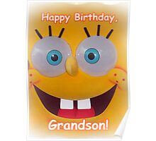 Grandson Birthday Poster