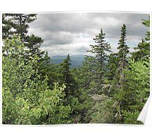 From across the Percival-Morgan ridge trail.... Poster