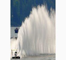 Race Boat Turns Left Unisex T-Shirt