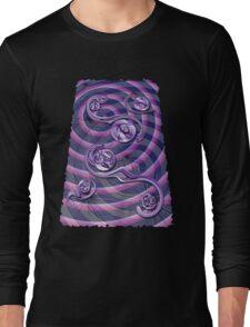 Violet Wake Long Sleeve T-Shirt