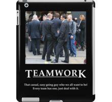 Life's Lesson 3 - Teamwork G iPad Case/Skin
