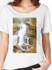 Raging Water Falls Women's Relaxed Fit T-Shirt