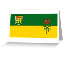 Flag of Saskatchewan Greeting Card