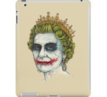 God Save the Villain iPad Case/Skin