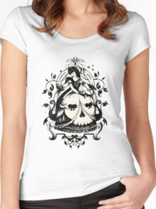 Mrs. Death Women's Fitted Scoop T-Shirt