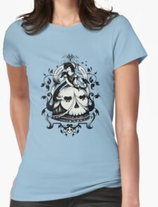 Mrs. Death Womens Fitted T-Shirt