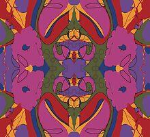 psychadelic monster by Ember  Fairbairn