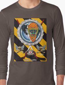 Evil Clown T Shirt Goalie Long Sleeve T-Shirt