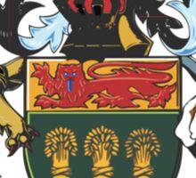 Saskatchewan Coat of Arms Sticker
