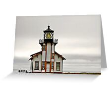 Point Cabrillo Lighthouse, CA Greeting Card
