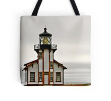 Point Cabrillo Lighthouse, CA Tote Bag