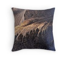 A snowy day to remember Throw Pillow
