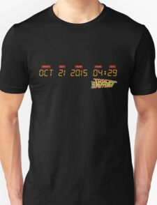 October 21, 2015 in DeLorean Numbers  T-Shirt
