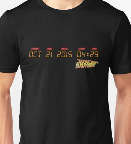 October 21, 2015 in DeLorean Numbers  Unisex T-Shirt