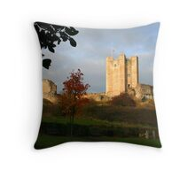 Conisbrough Castle Throw Pillow