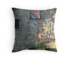 Tuscany Water Fountain Throw Pillow
