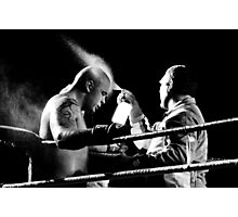 Boxing moment at siam park, Tenerife Photographic Print