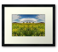 I Can See Eden on the Horizon Framed Print