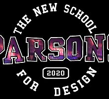 Parsons - the new school for design firework print by mikkimccann