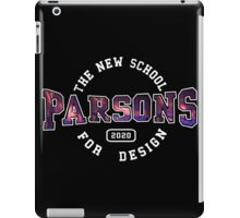 Parsons - the new school for design firework print iPad Case/Skin