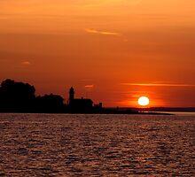 Sunset over Denmark by imagic