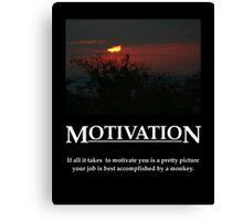 Life's Lesson - Motivation Canvas Print