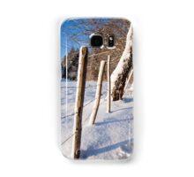 Rural winter scene Samsung Galaxy Case/Skin