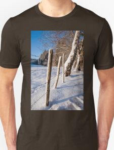 Rural winter scene T-Shirt