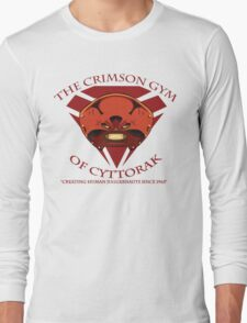 The Crimson Gym of Cyttorak Long Sleeve T-Shirt